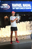 spains rafael nadal poses with his