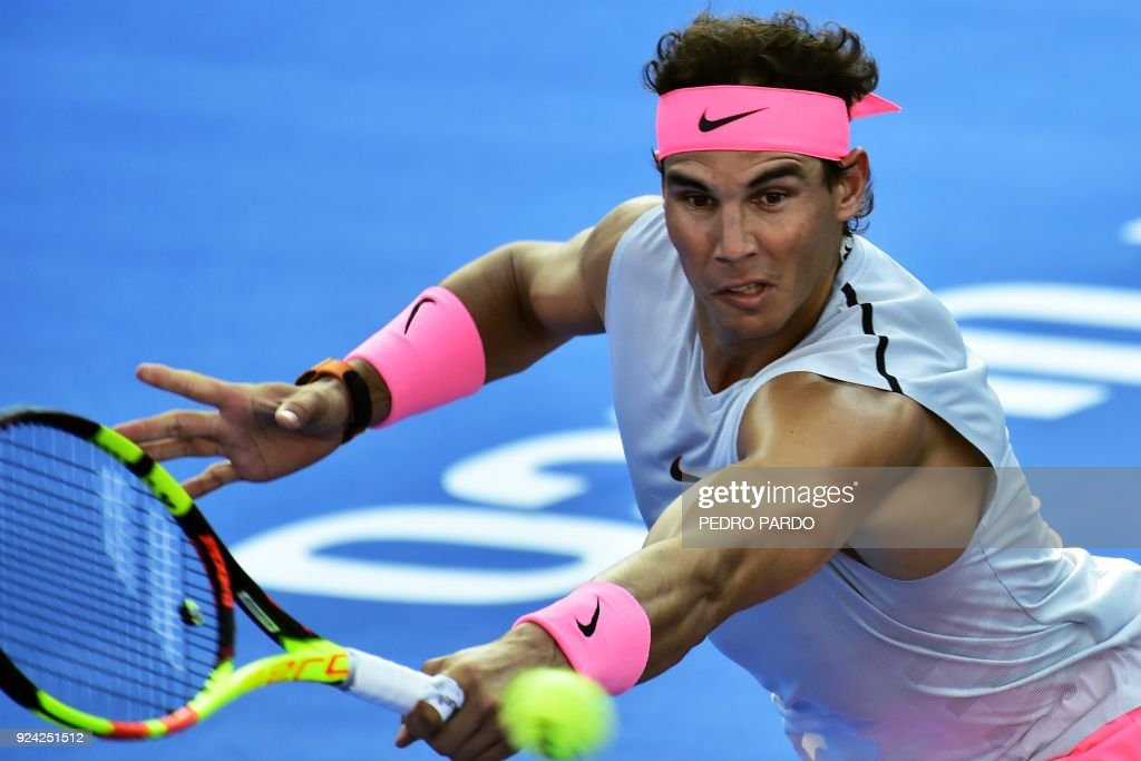 TENNIS-ATP-MEX-NADAL : News Photo