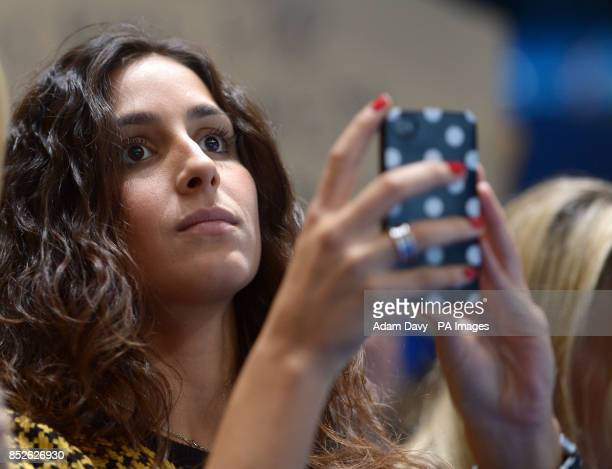 Spain's Rafael Nadal's girlfriend Maria Francisca Perello during day seven of the Barclays ATP World Tour Finals at the O2 Arena London