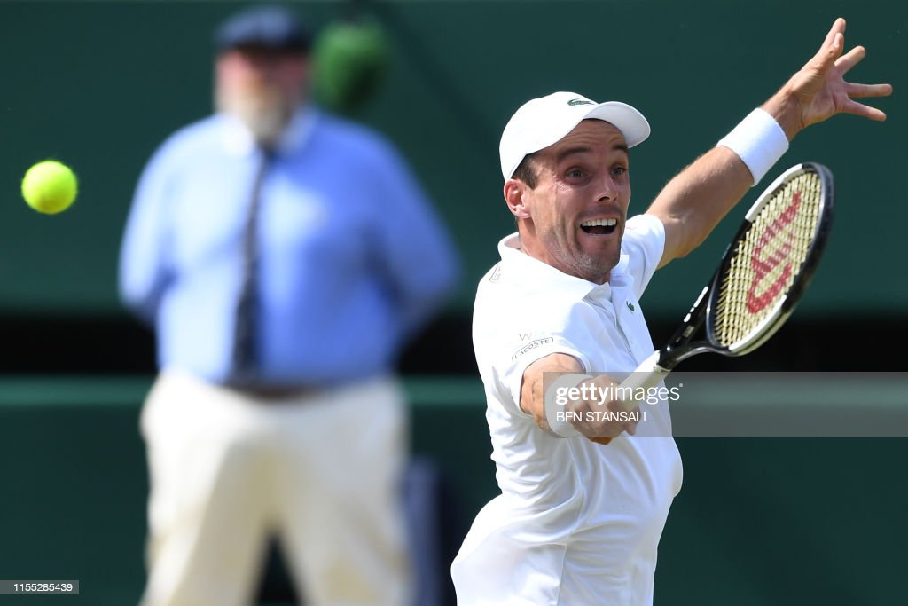 TENNIS-GBR-WIMBLEDON : News Photo