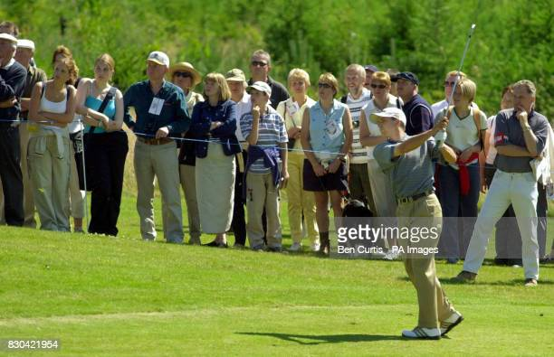Spain's Sergio Garcia at the Roxburghe Challenge 2000 where he broke the course record which was previously held by Nick Faldo at the Roxburgh Golf...