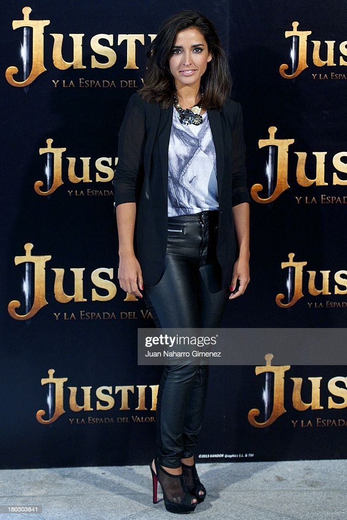 Spainsh actress Inma Cuesta attends 'Justin And The Knights Of Valour' (Justin Y La Espada Del Valor) photocall at Castle of Villaviciosa de Odon on September 11, 2013 in Villaviciosa de Odon, Spain.