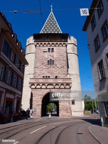 Spalentor, Old City Wall, Basel, Switzerland