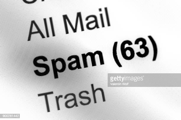 Spam emails, email account, email, Internet, Internet fraud, phishing, symbolic image, screenshot