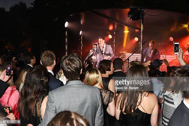Spandau Ballet performs at The Serpentine Gallery summer party at The Serpentine Gallery on July 2 2015 in London England