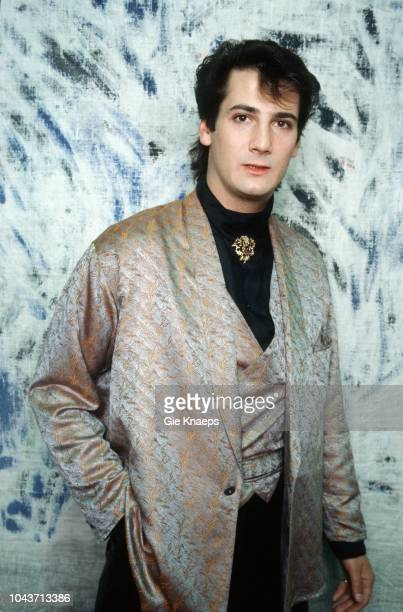 Spandau Ballet Portrait of Tony Hadley Brielpoort Deinze Belgium 2nd February 1985