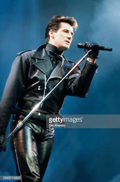 Spandau Ballet Tony Hadley Diamond Awards Festival Sportpaleis Antwerp Belgium 6th December 1986