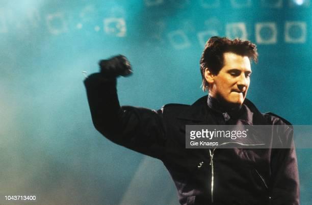 Spandau Ballet Tony Hadley Diamond Awards Festival Sportpaleis Antwerp Belgium 6th December 1986