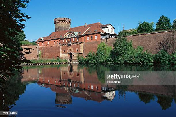 spandau citadel and waterfront - spandau stock pictures, royalty-free photos & images