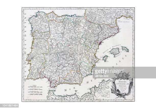 Atlas Universel, par M. Robert Geographe ordinaire du Roy, et par M. Robert De Vaugondy son fils Geographe ord. Du Roy, Paris 1758.