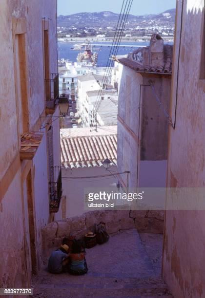 Spanien, Aufnahme ca. 1974, Ibiza Sommerurlaub