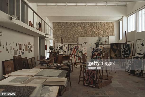 Spanien Balearen Mallorca das ehemalige Atelier von Joan Miró in Palma Mallorca