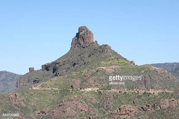 Spanien, Gran Canaria, Roque Bentayga bei Tejeda