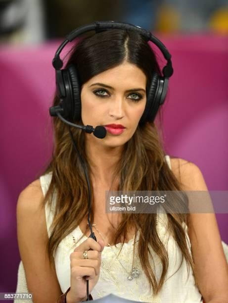 FUSSBALL EUROPAMEISTERSCHAFT Spanien Italien TVModeratorin Sara Carbonero
