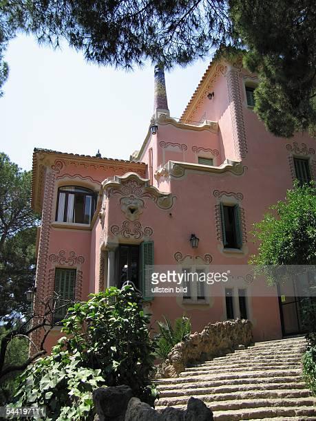 EU Spanien Katalonien Barcelona CasaMuseu Gaudi im Parc Güell