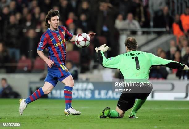 Spanien Katalonien katalanien Barcelona - UEFA Champions League, Saison 2009/2010, Achtelfinal-Rueckspiel, FC Barcelona - VfB Stuttgart 4:0 -...