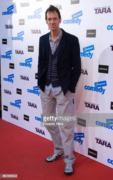 Spanis actor Edu Soto attends 'United States of Tara' premiere at the Capitol Cinema on April 28 2009 in Madrid Spain