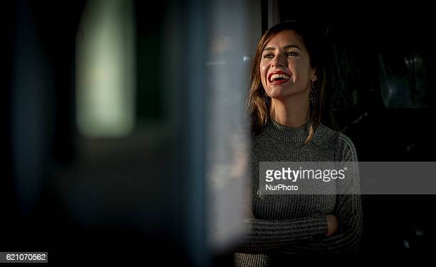 Spanish acress Paula Prendes attends the quot100 metrosquot premiere in Capitol Cinema on November 2 2016 in Madrid Spain
