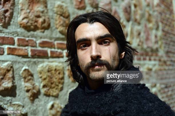 Spanish actor Aitor Luna as Diego Alatriste poses at the set of TV series 'Alatriste' in Budapest Hungary 11 December 2013 The 15 episodes set at the...
