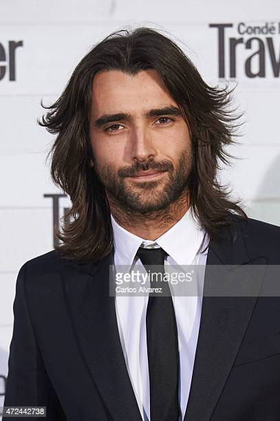 Spanish actor Aitor Luna attends the VII Conde Nast Traveler Awards at the Giner de los Rios Foundation on May 7 2015 in Madrid Spain