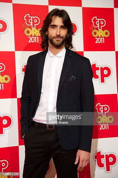 """Spanish actor Aitor Luna attends """"TP de Oro"""" Television Awards 2012 at the Canal Theater on February 13, 2012 in Madrid, Spain."""