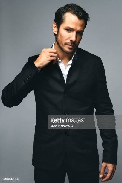Spanish actor Alejandro Albarracin is photographed on self assignment during 21th Malaga Film Festival 2018 on April 17 2018 in Malaga Spain