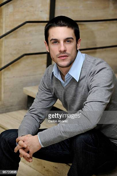 Spanish actor Alejo Sauras presents Acusados second season at Tele 5 television set on January 12 2010 in Madrid Spain