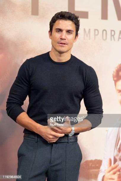 Spanish actor Alex Gonzalez attends 'Vivir Sin Permiso' Mediaset Presentation on January 10, 2020 in Madrid, Spain.