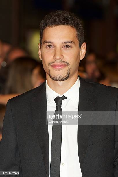 Spanish actor Alex Martinez attends the 'Isabel' new season premiere during the 5th FesTVal Television Festival 2013 at the Principal Theater on...
