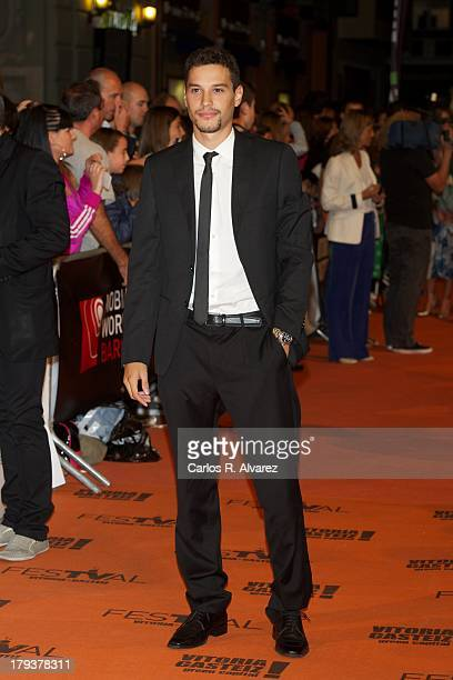 Spanish actor Alex Martinez attends the Isabel new season premiere during the 5th FesTVal Television Festival 2013 at the Principal Theater on...