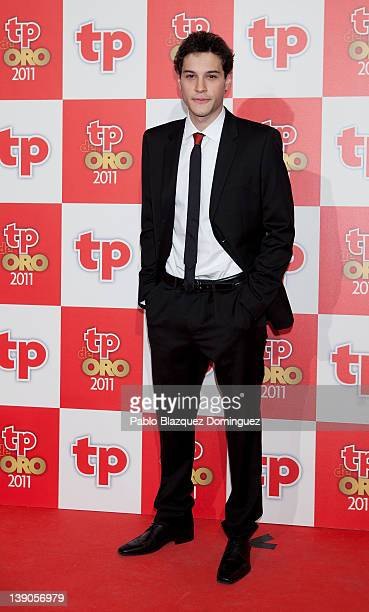 Spanish actor Alex Martinez attends 'TP de Oro' Television Awards 2012 at the Canal Theater on February 13 2012 in Madrid Spain