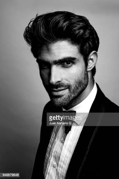 Spanish actor and model Juan Betancourt is photographed on self assignment during 21th Malaga Film Festival 2018 on April 13 2018 in Malaga Spain