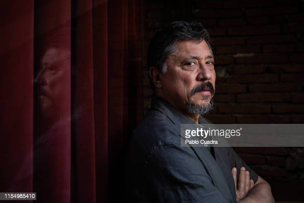 Spanish actor and writer Carlos Bardem poses for a portrait on June 07 2019 in Madrid Spain