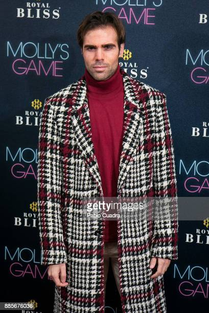 Spanish actor Angel Caballero attends 'Molly's Game' Madrid premiere at Capitol Cinema on December 4 2017 in Madrid Spain