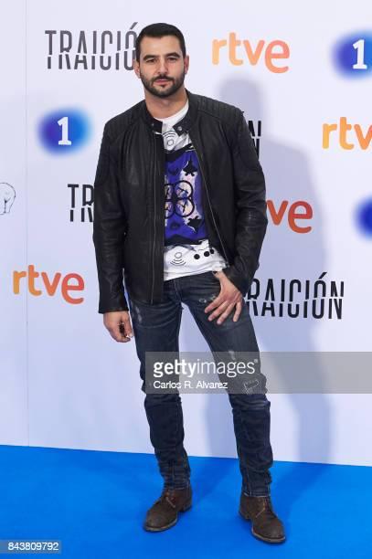 Spanish actor Antonio Velazquez attends 'Traicion' photocall at the Palacio de Congresos during the FesTVal 2017 on September 7 2017 in...