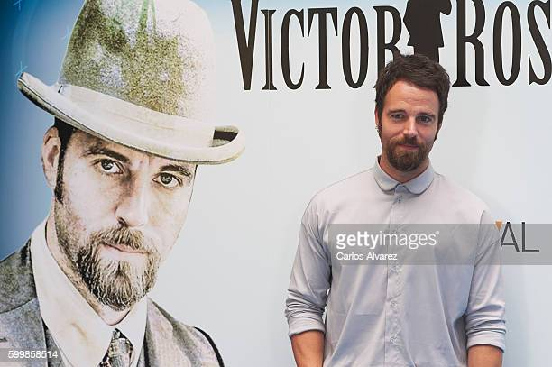 Spanish actor Carles Francino attends Victor Ros photocall at Escoriaza Esquivel Palace during FesTVal 2016 Day 3 on September 7 2016 in...