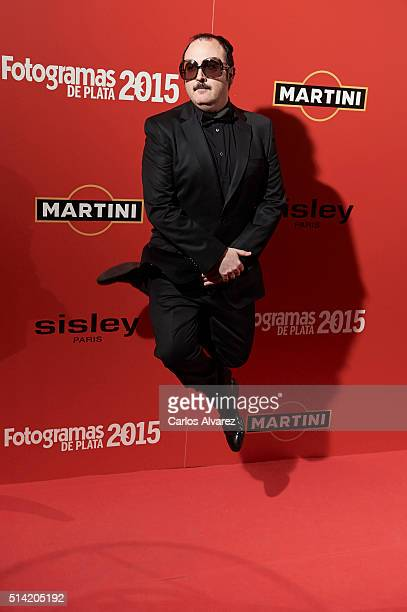 Spanish actor Carlos Areces attends the Fotogramas Awards 2015 at the Joy Eslava Club on March 7 2016 in Madrid Spain