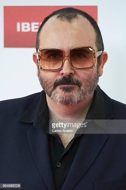 Spanish actor Carlos Areces attends the Jose Maria Forque Awards 2015 at the Palacio Municipal de Congresos on January 11 2016 in Madrid Spain