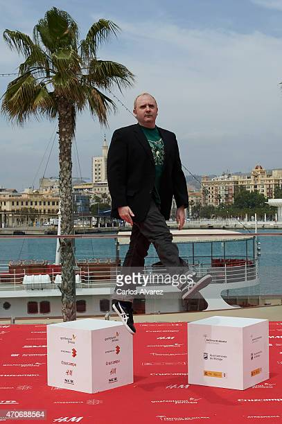 Spanish actor Carlos Areces attends the 'Sexo Facil Peliculas Tristes' photocall during the 18th Malaga Film Festival on April 22 2015 in Malaga Spain