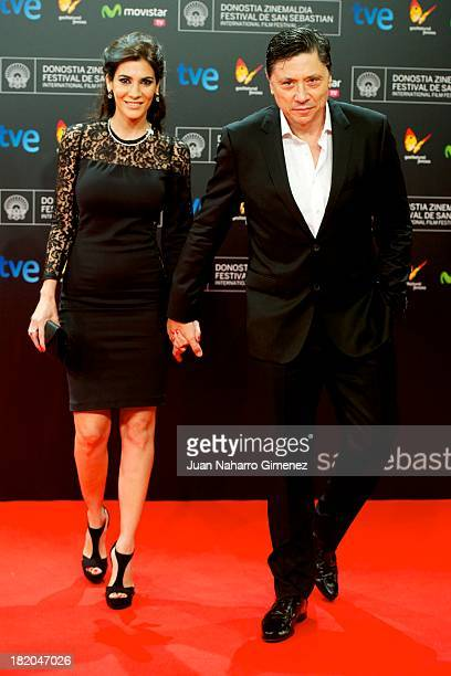 Spanish actor Carlos Bardem attends 'La Herida' premiere at Kursaal during 61st San Sebastian Film Festival on September 27, 2013 in San Sebastian,...