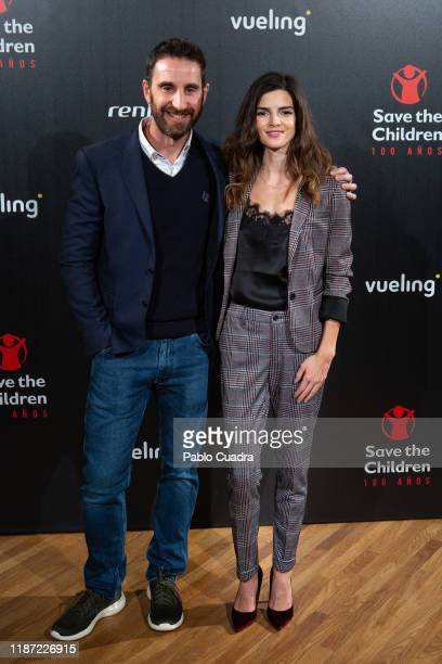 Spanish actor Dani Rovira and actress Clara Lago attend 'Save The Children' awards 2019 at Caixa Forum on November 12 2019 in Madrid Spain