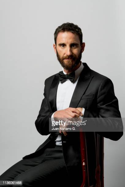 Spanish actor Dani Rovira poses for a portrait session at Teatro Cervantes during 22nd Spanish Film Festival of Malaga on March 15 2019 in Malaga...