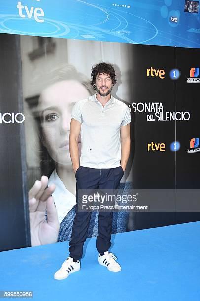 Spanish actor Daniel Grao attends attend 'La Sonata del Silencio' photocall during FesTVal 2016 Day 1 Televison Festival on September 5 2016 in...