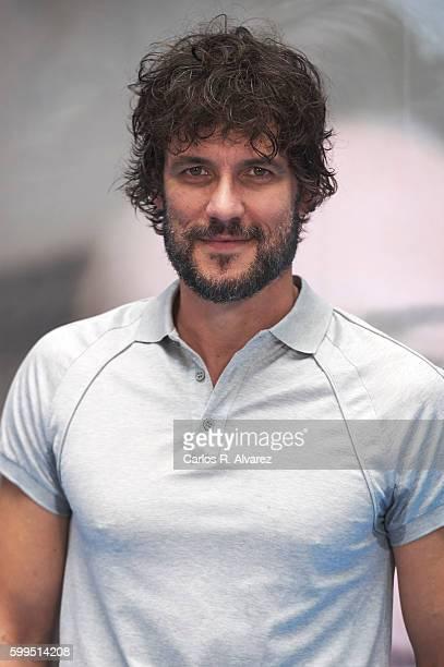 Spanish actor Daniel Grao attends 'La Sonata del Silencio' photocall during FesTVal 2016 Day 1 Televison Festival on September 5 2016 in...