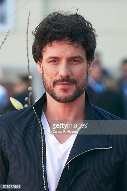 Spanish actor Daniel Grao is seen during the photocall of 'Acantilado' at the 19th Malaga Spanish Film Festival on April 25 2016 in Malaga Spain
