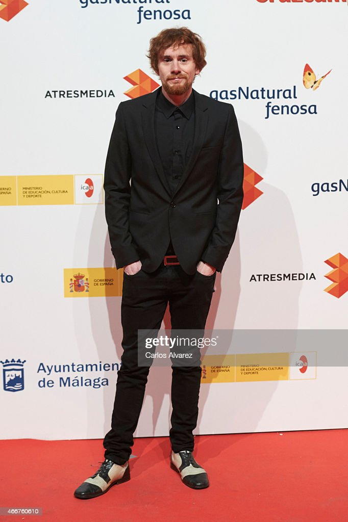 Spanish actor Daniel Perez Prada attends the Malaga Film Festival cocktail presentation at Circulo de Bellas Artes on March 18, 2015 in Madrid, Spain.