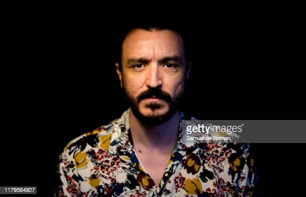 Spanish actor David Pareja poses for portrait session at Sitges film festival 2019 on October 07 2019 in Sitges Spain