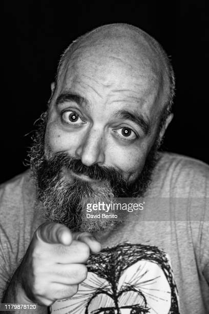 Spanish actor Diego Rojas poses for a portrait sesión at Teatro Cofidis Alcazar on September 15 2019 in Madrid Spain