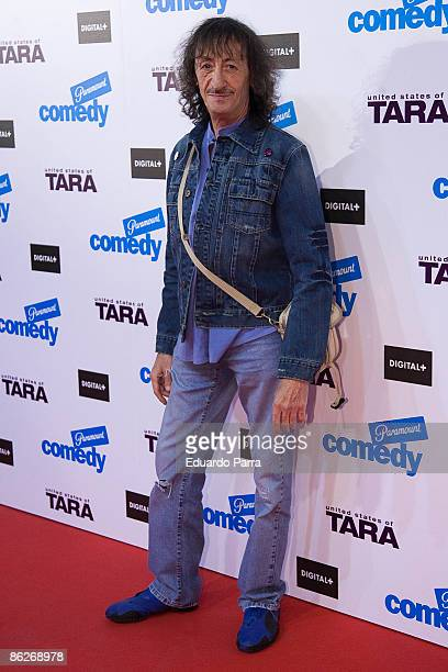 Spanish actor Edu Gomez attends 'United States of Tara' premiere at the Capitol Cinema on April 28 2009 in Madrid Spain