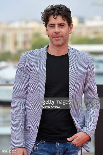 Spanish actor Eduardo Noriega attends Nuestros Amantes photocall during the 19th Malaga Film Festival on April 30 2016 in Malaga Spain
